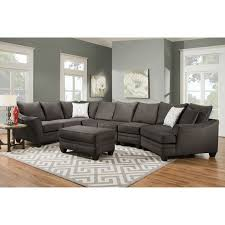 Sectional Sofas U Shaped Decent Lear U Shape Sectional In Yellow Accent Ushaped