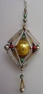 vintage candle candleholder clip on italian mercury glass