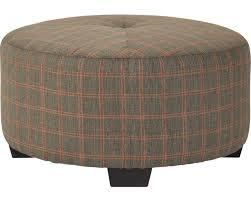 bachmann round cocktail ottoman broyhill furniture