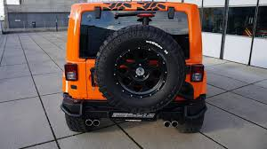 jeep wrangler jacked up jeep wrangler gets 356 hp and other upgrades from geiger cars