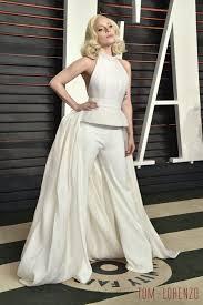 Vanity Fair Wedding Lady Gaga In Brandon Maxwell At The 2016 Vanity Fair Oscar Party