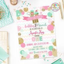 birthday brunch invitations bubbles brunch birthday invite bubbles birthday party bubbly