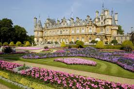 palace england waddesdon manor parks begonia lawn cities