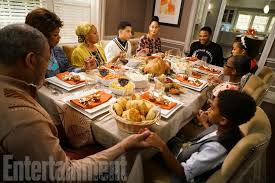 how black ish decorates the thanksgiving table ew