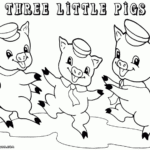 pig coloring pages pigs 1 coloring