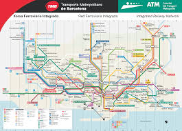 Dart Train Map Barcelona Metro Map Bcn Metro Map Barcelona Metro Map Of