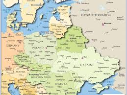 Map Eastern Europe Download Map Of East Europe And Asia Major Tourist Attractions Maps