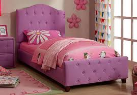 Girls Twin Princess Bed by Princess Beds For Girls Twin Frame Kids Diva Upholstered Purple