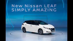 nissan leaf australia new model nissan leaf 2018 icon of intelligent mobility simply amazing