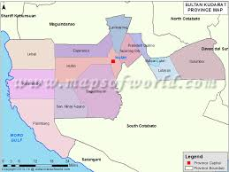 map of province sultan kudarat map map of sultan kudarat province philippines