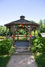 Pergola Wedding Decorations by Decorated Wedding Gazebo Recent Photos The Commons Getty