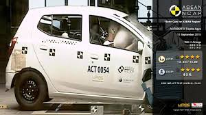 toyota agya airbag crash test autonetmagz