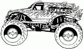 bigfoot monster truck coloring pages truck coloring pages bestofcoloring com