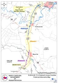 Map Of South Carolina Counties Bypass Project In Jones County Starts In 2015 Public Radio East