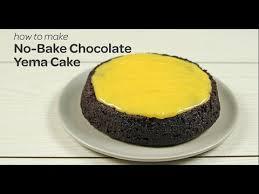 no bake chocolate yema cake recipe youtube