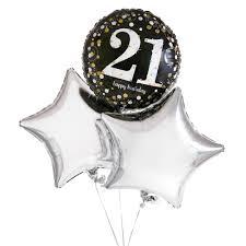 send a balloon in a box usa 21st balloon gift set