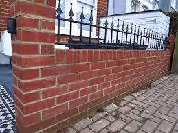 victorian garden walls and london garden design victorian front company walls red brick