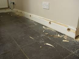 Laminate Flooring Skirting Boards Home And Garage Fixer Removing Skirting Boards From A