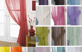 Cotton Tie Top Curtains by Curtains Coloured Voile Curtains Adulatory Where To Buy Curtains