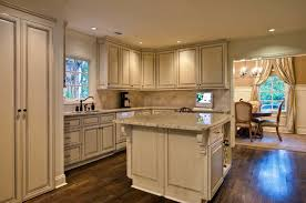 Unfinished Discount Kitchen Cabinets Rustic Light Brown Wooden Kitchen Island And Kitchen Cabinet Using