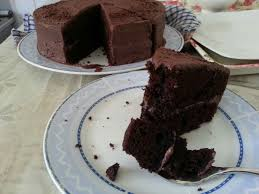 the only super moist chocolate fudge cake in my heart most
