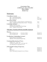 Professional Curriculum Vitae Samples Job Cv Sample Pdf With Curriculum Vitae Sample Pdf Download