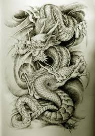 japanese dragon tattoo design clip art library