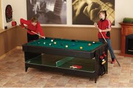 triumph 4 in 1 game table multi game table reviews fat cat pockey 7ft black 3 in 1 air hockey