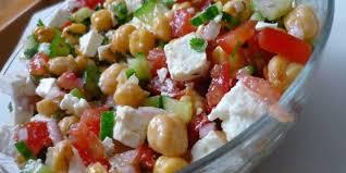 cuisiner les pois chiches salade de pois chiche recette facile