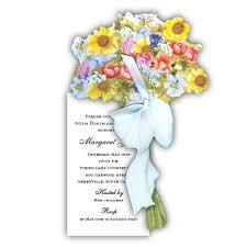 english garden bouquet birthday invitations paperstyle