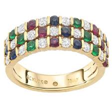 sapphire emerald rings images Gemlok diamond ruby sapphire emerald gold band ring for sale at jpg
