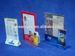 restaurant table top display stands perspex restaurant table menu display holder plexiglass drink menu