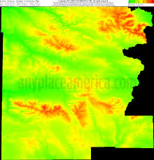 Oregon Topographic Map by Free Grant County Oregon Topo Maps U0026 Elevations