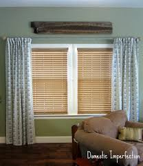 Hanging Curtains With Rings How To Make Curtains Domestic Imperfection