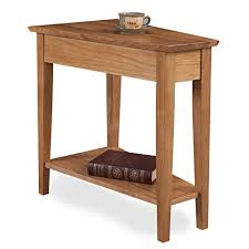 leick recliner wedge end table amazon com leick 10074 ds desert sands recliner wedge end table