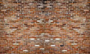 Stone Wall Mural Wall Mural Brick Wall Photo Wallpaper Bricks Red Happywall