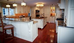 Kitchen Island With Corbels Traditional Old World Charm Spring Lake New Jersey By Design Line