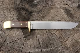 Hand Forged Kitchen Knives Hand Forged Custom Bowie Knife 8 5