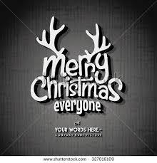 retro vintage merry greeting card stock vector 157513583