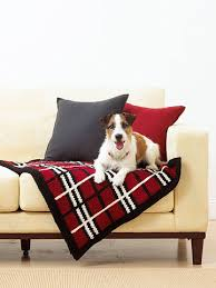 Dog Blankets For Sofa by Knitted Plaid Pet Blanket