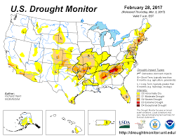 Synoptic Weather Map Definition Drought February 2017 State Of The Climate National Centers