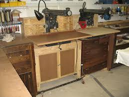 Craftsman Radial Arm Saw Table Radial Arm Saw Cabinet By Mountainaxe Lumberjocks Com