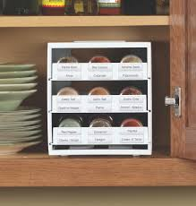 spice cabinets for kitchen new spicestack spice rack helps not so organized cooks
