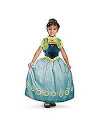 Elsa Halloween Costumes Kids Kids Elsa Costume Deluxe Frozen Fever Spirithalloween