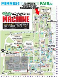 State Fair Mn Map Qa1 Autocross Moves To Larger Lot For A Bigger Faster Course