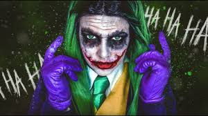 the joker halloween makeup tutorial cherry wallis youtube