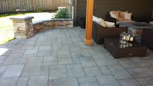 Deck To Patio Transition Project Spotlight Portland Landscaping Company Creates Covered