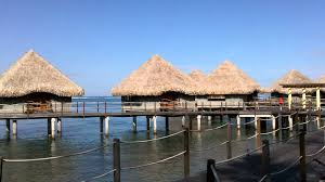 le meridien tahiti beach and over water bungalows mov youtube