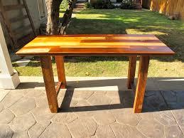 Kitchen Work Table by Arbor Exchange Reclaimed Wood Furniture Patchwork Kitchen Work