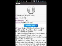 opera mini 7 5 apk gratis con opera mini handler
